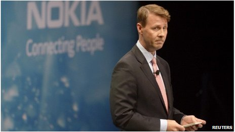 Chairman and interim chief executive of Nokia Risto Siilasmaa speaks at the shareholder meeting in Helsinki, Finland on 19 November 2013