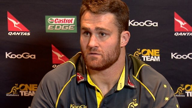 Interview - Australian lock James Horwill