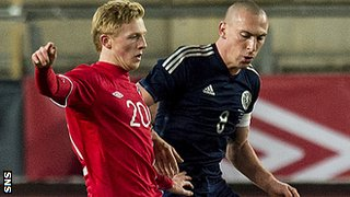 Norway lost 0-1 to Scotland