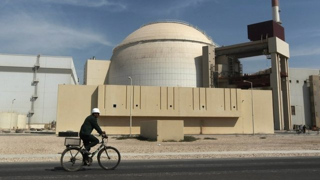 Bushehr nuclear power plant - file image
