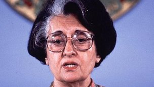 India remembered Mrs Gandhi on her 96 birthday on Tuesday