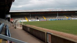 Glanford Park in Scunthorpe