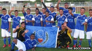 Pohnpei football team