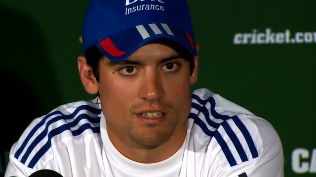 England captain Alastair Cook