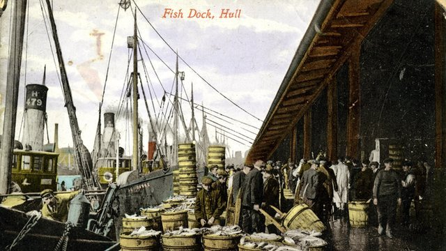 Hull Fish Dock 1913