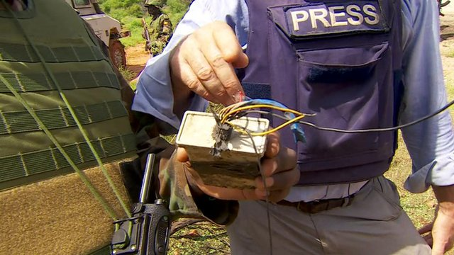 Roadside improvised explosive device