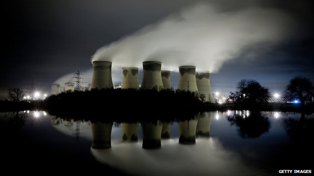 The Drax power station in Yorkshire