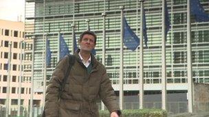 Hugh Pym in Europe