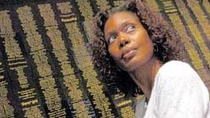 woman I interviewed who made a quilt with 5000 names of lynching victims on it.