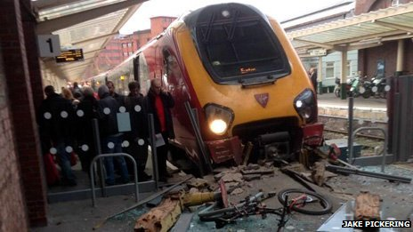 Virgin train crash