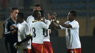 Ghana hit seven goals past Egypt in their World Cup play-off