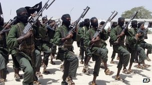 Al-Shabab fighters in 2011