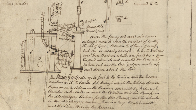 Notes on the mechanics of the cross-channel steam vessel Arrow, written in Dover by a Neath Abbey Ironworks worker in 1822 - this is possibly an early example of industrial espionage