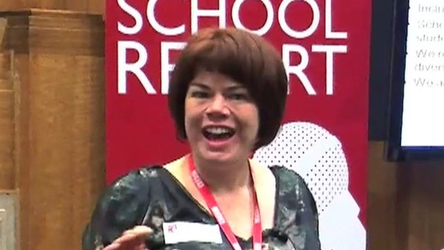 Helen Shreeve, the Editor of School Report