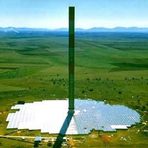 Solar updraft tower