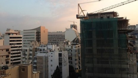 Beirut's Hamra district