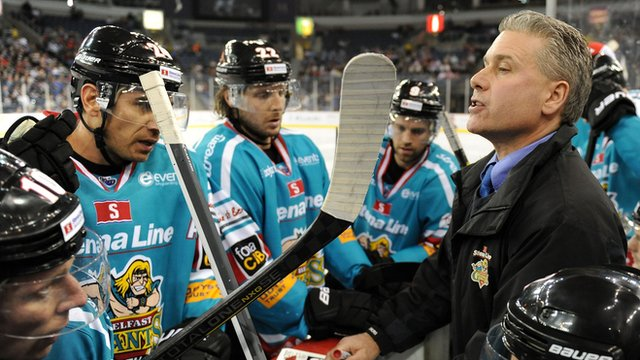 Belfast Giants coach Paul Adey