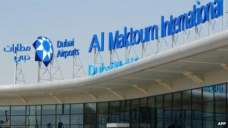 Dubai Al Maktoum airport