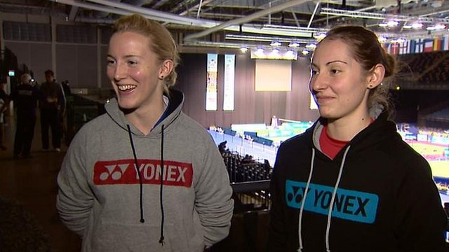 Imogen Bankier and Kirsty Gilmour
