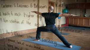 Nick, yoga teacher, former convict