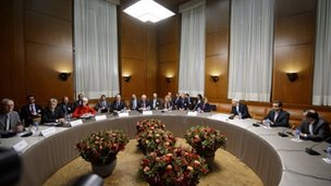 Officials meet at the latest session of talks in Geneva on Iran's nuclear programme.