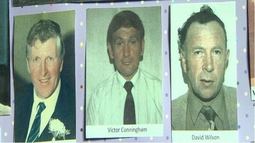 Three men died in the attack 30 years ago in Darkley