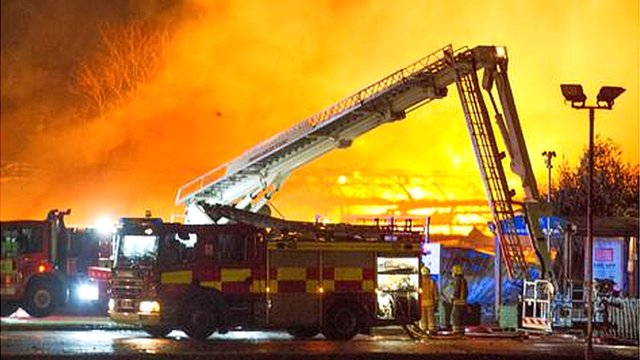 blooms garden centre fire