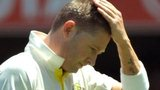 Michael Clarke walks off