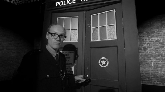 The BBC's Arts Editor Will Gompertz goes into the Tardis