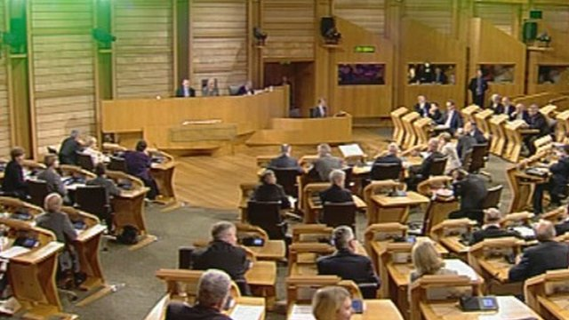 MSPs back the general principles of the same-sex marriage bill