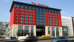 The Mailbox in Birmingham