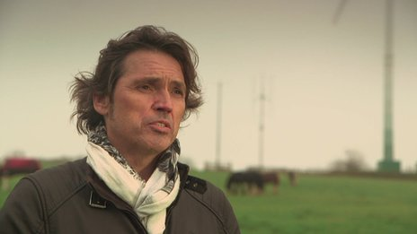 Dale Vince, owner of Ecotricity and Forest Green Rovers football club