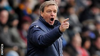 Shrewsbury Town boss Graham Turner