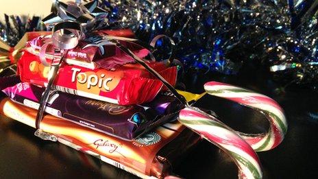 Chocoholic sled