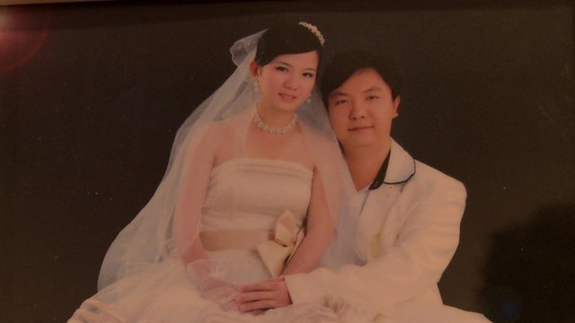 photo of married Chinese couple