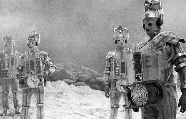 The Cybermen in The Tenth Planet