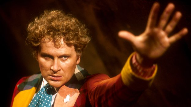 Colin Baker's Doctor in Vengeance on Varos