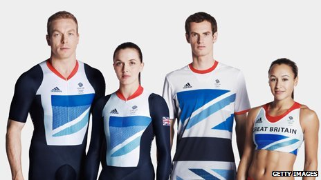 Chris Hoy, Victoria Pendleton, Andy Murray, Jessica Ennis