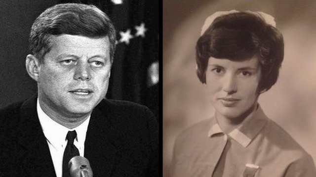 JFK and Patricia Duggan