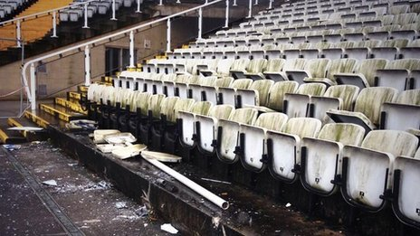 Demolition work begins at Don Valley Stadium