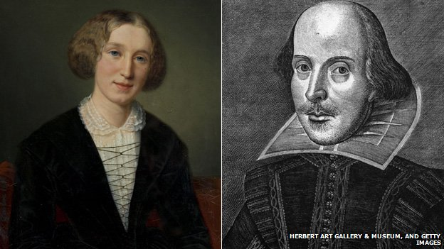 George Eliot and William Shakespeare