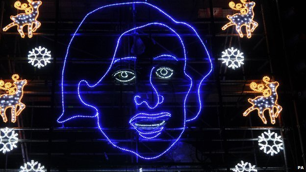 Alan Partridge lights, Norwich