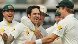 Mitchell Johnson strikes
