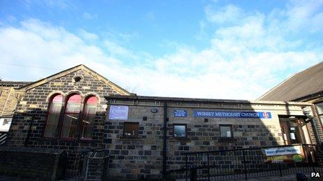 Wissey Methodist Church in Bradford