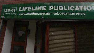 Lifeline Project premises in London