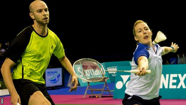 Robert Blair and Imogen Bankier in Glasgow