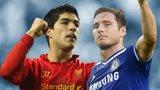 Luis Suarez, Frank Lampard
