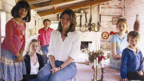 Emma Bridgewater and family