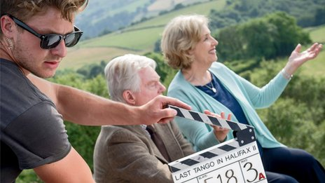 Last Tango in Halifax clapperboard