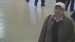 Anxiang Du at Birmingham New Street station